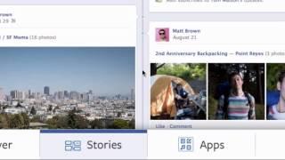 Facebook Timeline -- How To Set up The Facebook Timeline, Facebook Video Tutorials