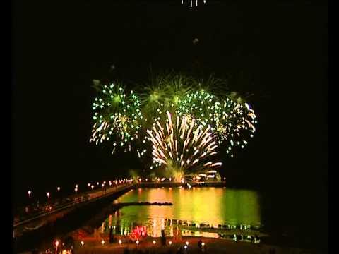 Muzikinis fejerverkas nuo Palangos tilto, 2005 m.