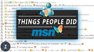 MSN Messenger Memories... good times. Submit and see more social media things: http://www.calbel.com/socialmedia Credit:...