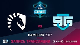 Liquid vs SG-eSports, ESL One Hamburg [v1lat, LightOfHeaven]