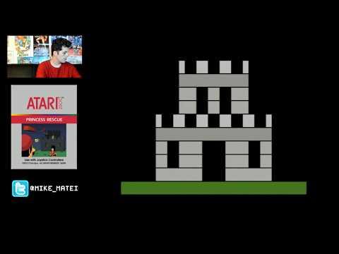 Super Mario Bros - Atari 2600 Live Stream with Mike Matei