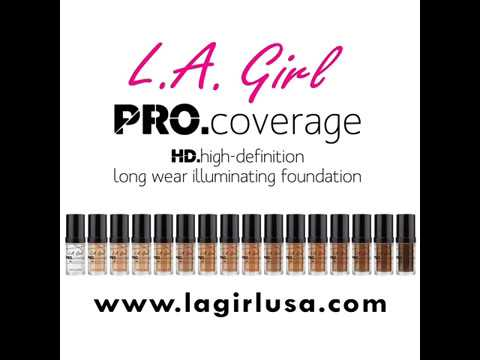 LA Girl Pro Coverage HD Liquid Foundation Warm Caramel