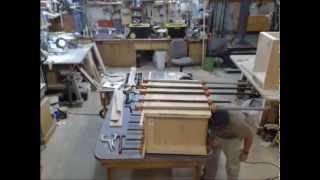 Desk Build Time Lapse: Part 1