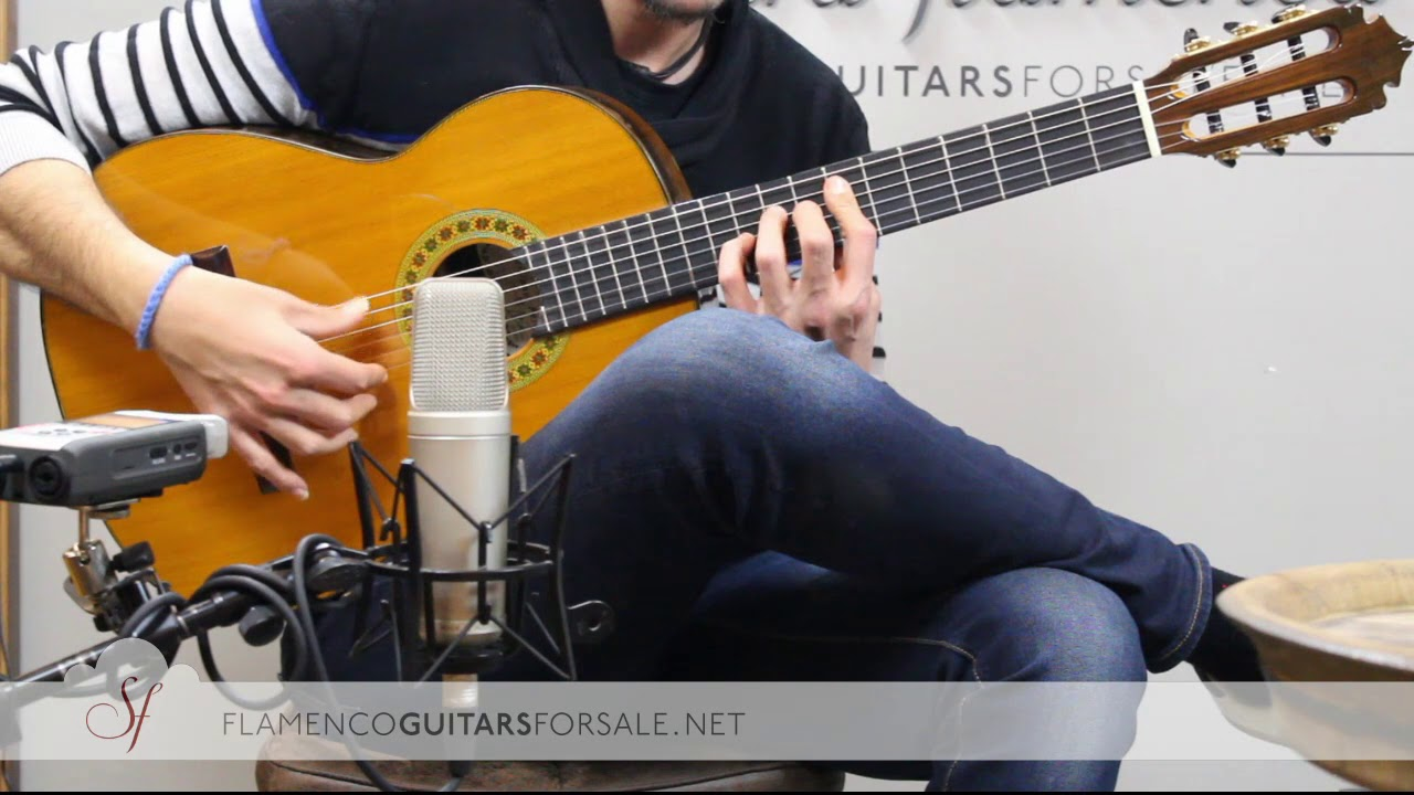 VIDEO TEST: Graciliano Pérez 2017 flamenco guitar for sale
