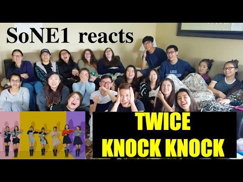 Video TWICE (트와이스) - KNOCK KNOCK M/V Reaction by SoNE1 download in MP3, 3GP, MP4, WEBM, AVI, FLV February 2017