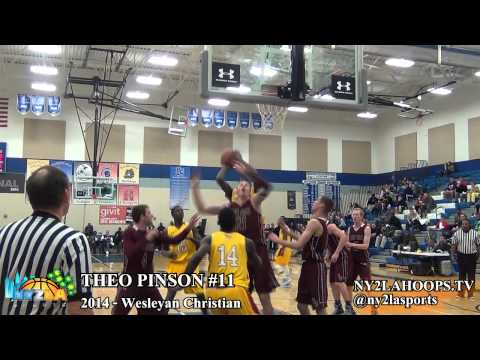 NY2LAHOOPS.TV – 2014 SF THEO PINSON AT THE 2013 BRANDON JENNINGS INVITATIONAL