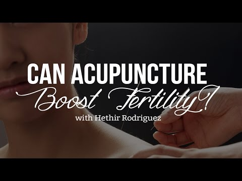 Can Acupuncture Boost Fertility