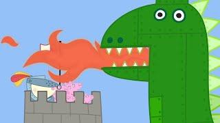 Video Peppa Pig Full Episodes | The Castle | Cartoons for Children MP3, 3GP, MP4, WEBM, AVI, FLV Juni 2019