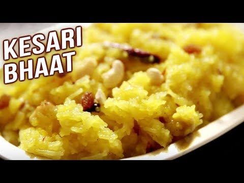 Kesari Bhaat | Saffron Rice Recipe – Sweet Dessert | Ruchi's Kitchen