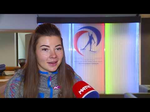 Большой сюжет про сборную России по биатлону в «Жемчужине Сибири»