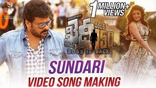 Sundari Video Song Making || Khaidi No 150 | Chiranjeevi | V V Vinayak | DSP full download video download mp3 download music download