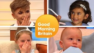 Subscribe now for more! http://bit.ly/1NbomQa Take a look back at some of the adorable moments when our special guests were...