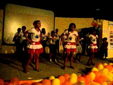 Crianças do PETI (Programa de Erradicação do Trabalho Infantil) em Tenente Ananias RN