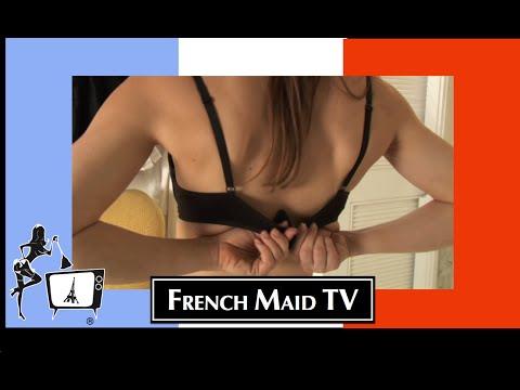 Sexy French Maid TV: 3 ragazze super sexy ci spiegano in un video come condividere le foto