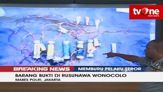 Video [BREAKING NEWS] Polisi Beberkan Barang Bukti di Rusunawa Wonocolo MP3, 3GP, MP4, WEBM, AVI, FLV September 2018