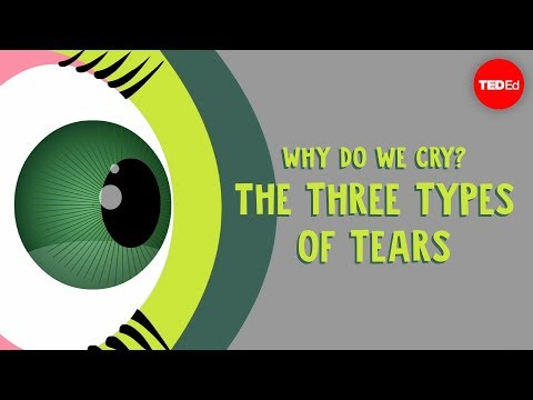 Why do we cry The three types of tears