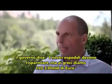 intervista a yanis varoufakis: l'europa già sapeva della crisi greca!