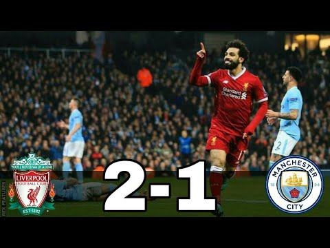 Liverpool Vs Manchester City 2-1 (UCL) 2017-18 All Goals & Highlights W/English Commentary ●HD