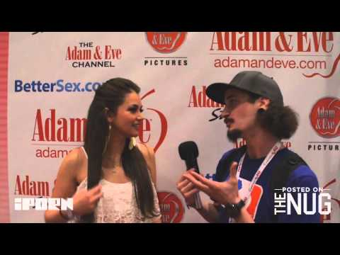 Allie Haze Interview With TheNug And iPorn At AVN 2014