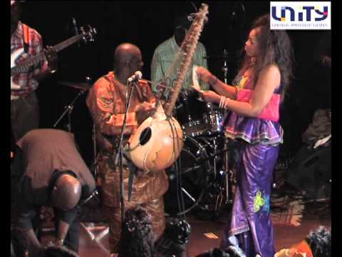 JALIBA  KUYATEH AND THE KUMAREH BAND CONCERT IN OSLO 2012 PART 2
