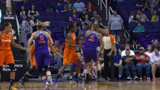 Brittney Griner Scores A Season High 21 Points in A Phoenix Mercury Victory over the Connecticut Sun by WNBA