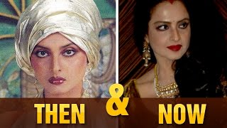 Cinecurry Then & Now: Bollywood Actresses | Hema Malini, Rekha | Part 1