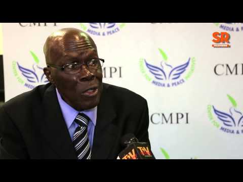 election - SaharaTV caught up with Professor Humphrey Nwosu, the former chairman of Nigeria's National Electoral Commission (NEC), after he delivered a public lecture on elections in Africa at the City...