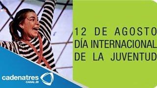 12 de agosto, día internacional de la juventud 13 agosto 2014 Para más información entra en...