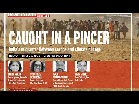 India's migrants: Between corona and climate change