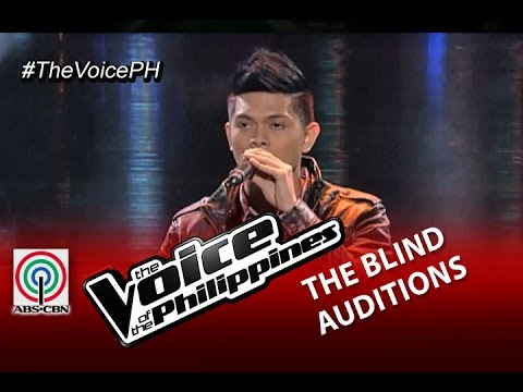 "The Voice Of The Philippines Blind Audition ""The Scientist"" By Bryan Babor (Season 2)"