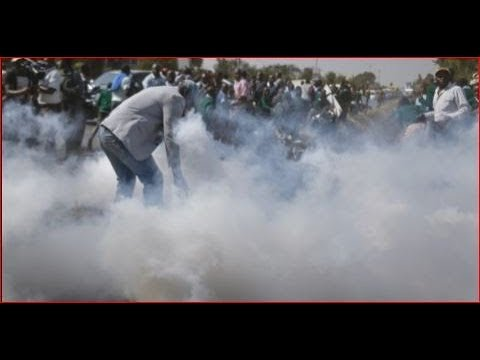 Jubilee and NASA supporters clash in Lare Meru County ahead of Raila Odingas visit_Űrhajó videók