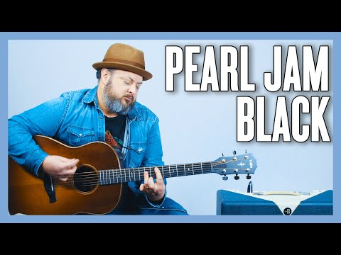 Pearl Jam Black Guitar Lesson + Tutorial