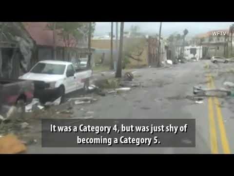 VIDEO:  Hurricane Michael Rips Through Southeast