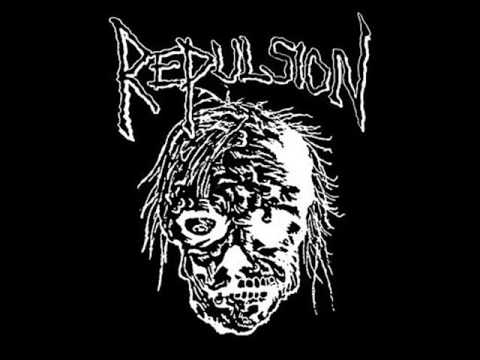 Repulsion . Rarities . Horrified Demo online metal music video by REPULSION
