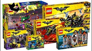COMPILATION ALL LEGO Batman 2017 - Speed Build