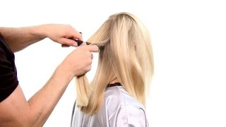 прически из тонких волос средней длины фото