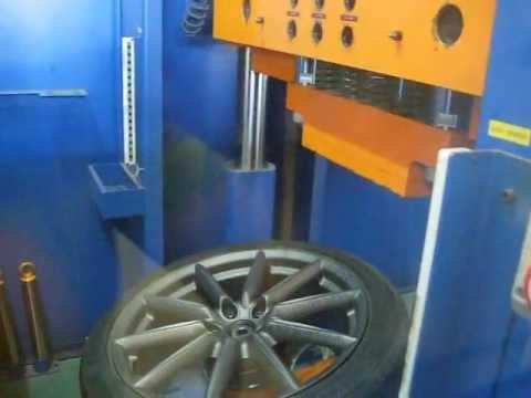 Тест литых дисков WSP Italy W251 CANNES на удар спицы (Alfa Romeо)