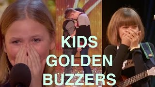 Video The Best Top 5 AMAZING Kids Golden Buzzers MP3, 3GP, MP4, WEBM, AVI, FLV Oktober 2017