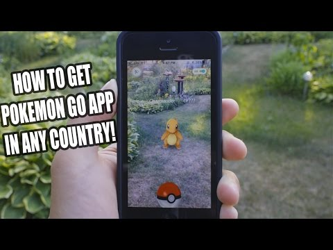 HOW TO DOWNLOAD POKEMON GO APP FOR ANY COUNTRY!! EASIEST WAY TO DOWNLOAD + LIVE DEMONSTRATION!! iOS!