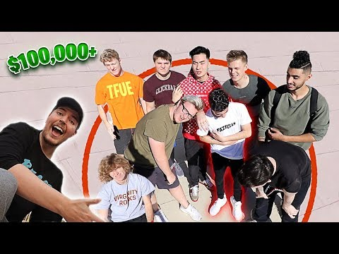 Last Youtuber To Leave The Circle, Wins $100,000.. (my Experience)