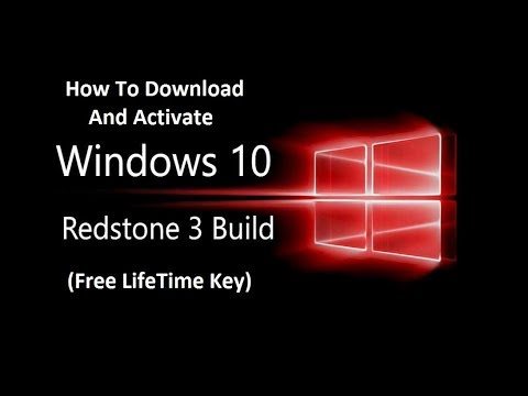 Windows 10 Redstone 3 Build 16188| How to Download & Activate Redstone 3 Build 16188  for LifeTime
