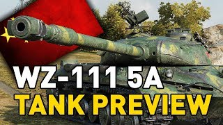 """World of Tanks - WZ-111 5A. Today I'm previewing the WZ-111 5A a T10 Chinese heavy tank coming in update 9.19.1!SUBSCRIBE for more videos!: ►https://goo.gl/5VIiJnT-SHIRTS: ►https://goo.gl/s2OINqLIVESTREAMS: Tuesdays, Thursdays and Sundays for 5 hours+ Starting @ 18:00-CET / 17:00-GMT / 12:00-EST►http://www.twitch.tv/quickybabyTwitter ►http://www.twitter.com/quickybabyFacebook ►http://www.facebook.com/quickybabyI'm partnered with G2A, get the latest games at the best prices! ►3% cashback using MY code: ►BABY◀ https://www.g2a.com/r/quickybabyQuickyBaby's FAQ►https://goo.gl/4Mi8wj___World of Tanks is a Free 2 Play online game published by Wargaming and is available as a free download here:https://goo.gl/AcgARAUse invite code """"QUICKYBABY4WOT"""" to get a T-127 with a 100% crew, 500 gold, 7 days premium, and a gun laying drive!"""