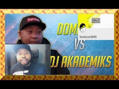 Dj Akademiks vs DomisLive HEATED Exchange (Full Call)