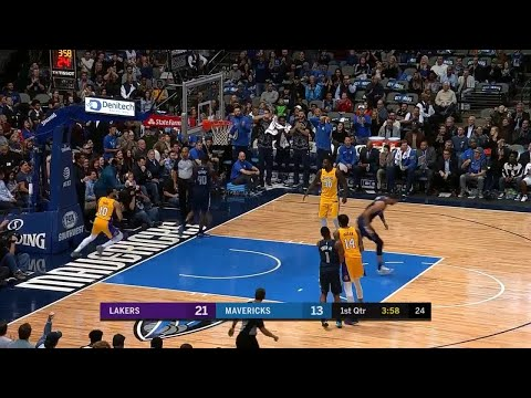 1st Quarter, One Box Video: Dallas Mavericks vs. Los Angeles Lakers