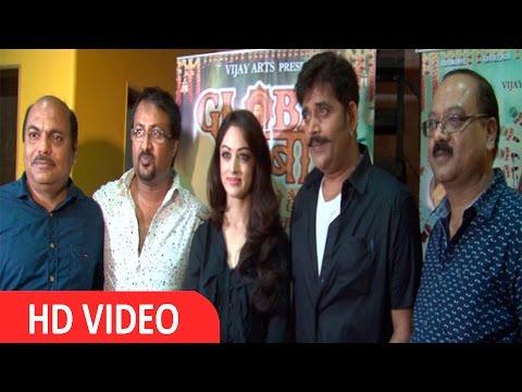 Meet With Ravi Kishan & Actress Sandeepa Dhar For Film Global Baba