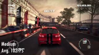 Quick Look at Grid 2  graphics comparison from low to extreme.Subscribe to the channel Specs:Intel core i7-4710HQ8 RAM 1 TB hard drive GTX 860m 2 GDRR5
