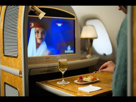 Emirates - Emirates Airline Business Class and First Class services from Brisbane to Dubai. Check out the First Class spa in Dubai Airport. Subscribe to Traveltherenext...