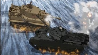 Video BEST TANK FIRE SCENE 3 Ver.2018 (Girls und Panzer Movie Final battle) MP3, 3GP, MP4, WEBM, AVI, FLV Juni 2018
