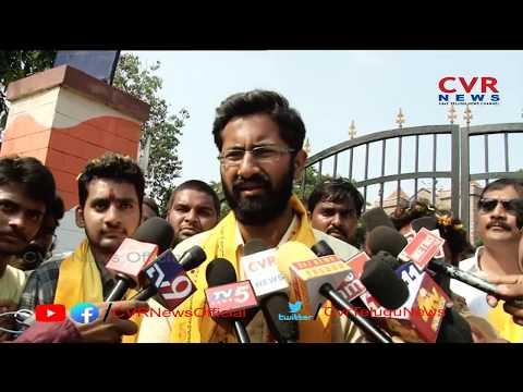Nandamuri Bala Krishna's son-in-law Sri Bharat Speaks to Media