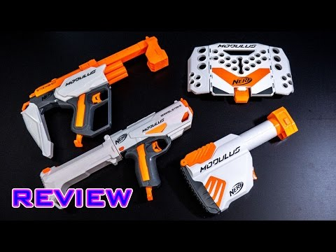 [REVIEW] New 2017 Nerf Modulus Attachments - BULK REVIEW